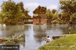 The Mill c.1960, Houghton