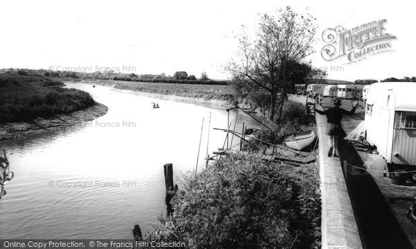 Photo of Houghton, Vinsons Caravan Park c.1960