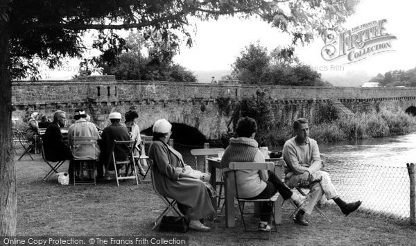 Photo of Houghton, Vinsons Tea Lawns c.1960