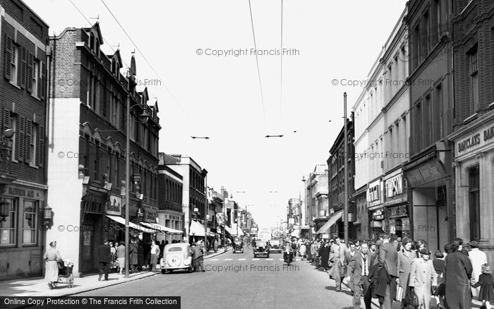 Photo Of Hounslow High Street 1955 Francis Frith