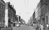Hounslow, High Street 1955
