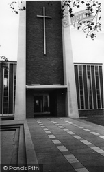 Hounslow, Holy Trinity Church c.1965