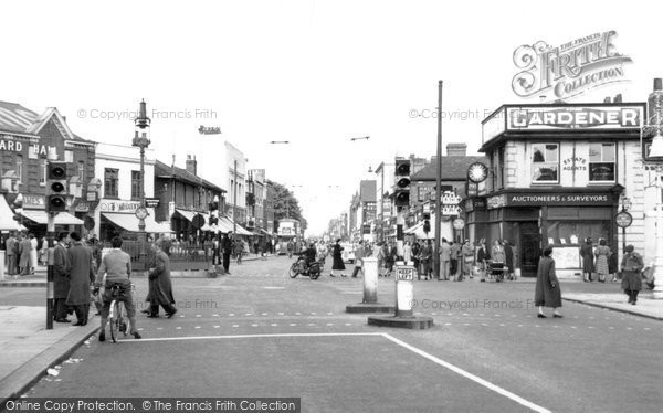 Hounslow, Staines Road 1955
