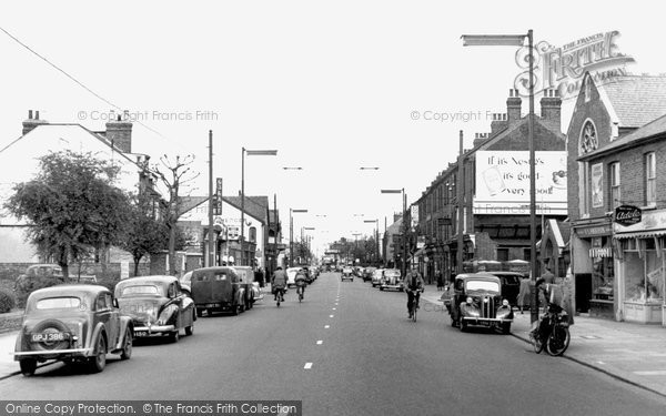 Photo of Hounslow, Staines Road c.1955