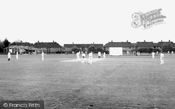 Hounslow, The Cricket Ground c.1955