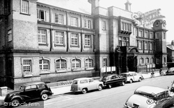 Hounslow, Town Hall c.1965