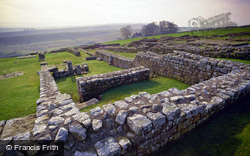 Hadrian's Wall, Roman Fort Of Vercovicium c.1990, Housesteads