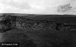 Roman Fort, N.W.Tower 1954, Housesteads