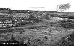 Roman Fort, South Gate 1954, Housesteads