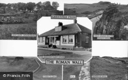 The Roman Wall Composite c.1955, Housesteads