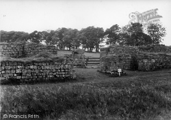 West Gate c.1955, Housesteads