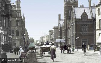 Hove, Church Road 1898