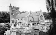 Hove, St Andrew's Church c1960