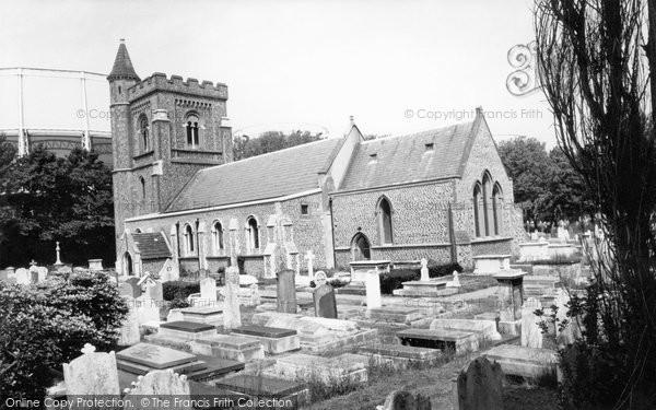 Photo of Hove, St Andrew's Church c1960