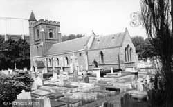St Andrew's Church c.1960, Hove