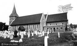 St Leonard's Church c.1960, Hove