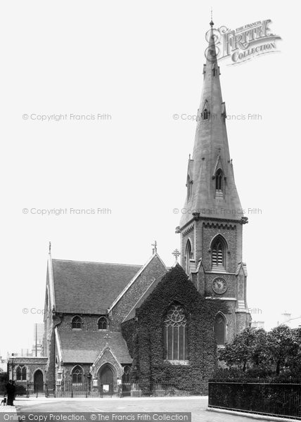 Photo of Hove, the Church of St John the Baptist 1898