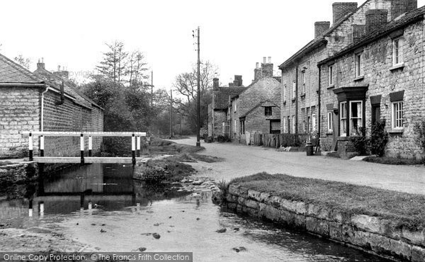 Photo of Hovingham, Brookside c.1955