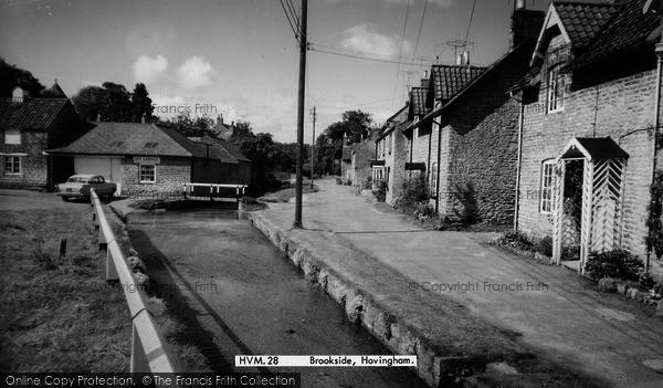 Photo of Hovingham, Brookside c.1960