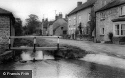 Hovingham, Brookside c.1965
