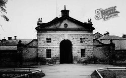 Hovingham, Entrance To Riding Stables c.1965