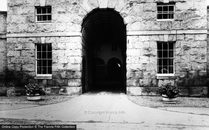 Photo of Hovingham, Entrance To Riding Stables c.1965