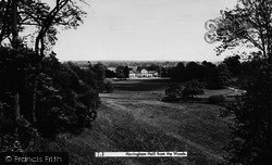 Hovingham, Hall From The Woods c.1955
