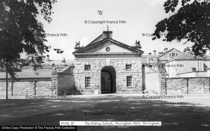 Photo of Hovingham, Hall, The Riding Stables c.1960