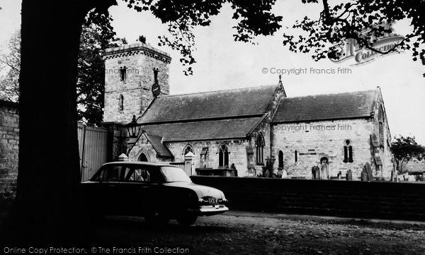 Photo of Hovingham, Parish Church c.1965