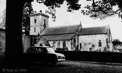 Hovingham, Parish Church c.1965