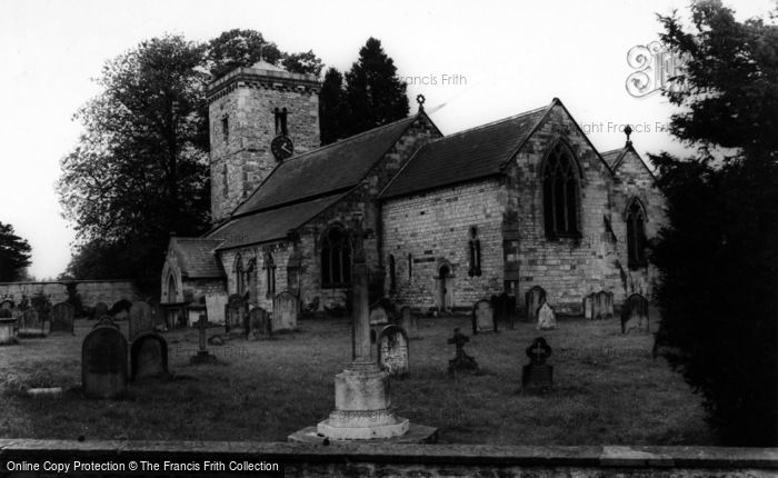 Photo of Hovingham, Parish Church Of All Saints c.1965