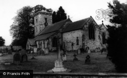 Hovingham, Parish Church Of All Saints c.1965