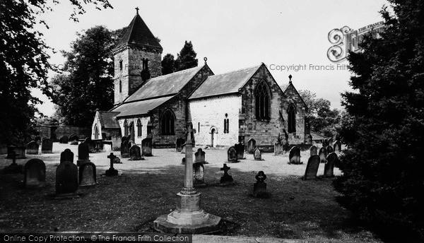 Photo of Hovingham, The Church c.1955