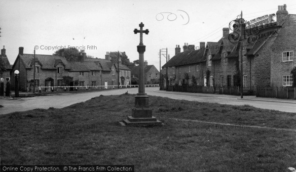 Photo of Hovingham, The Cross And Market Place c.1955
