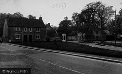 Hovingham, The Cross And Market Place c.1955