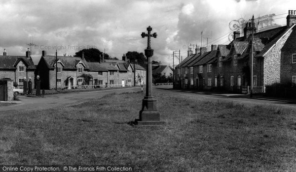 Photo of Hovingham, The Cross And Market Place c.1960