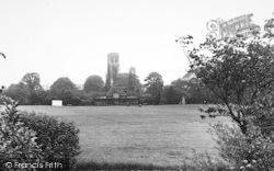 Howden, Ashes Playing Fields And Church c.1960