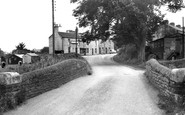 Howden Le Wear, Bridge and Plantation Inn c1955