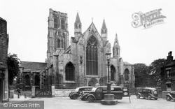 Howden, The Church c.1955