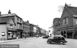 The Market Place c.1950, Howden