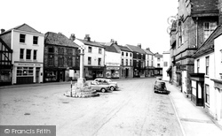 Howden, The Market Place c.1965