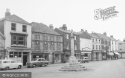 Howden, The Market Place Cross c.1960