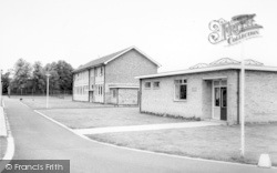 Howden, The School And Library c.1965