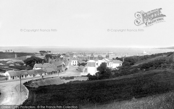 Photo of Howth, From Above New Chapel 1897