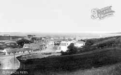 Howth, From Above New Chapel 1897