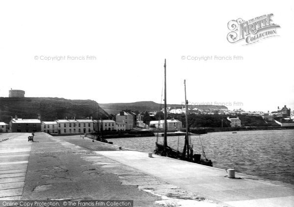 Photo of Howth, From East Pier 1897
