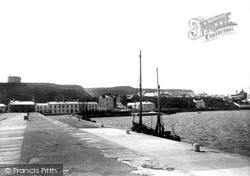 Howth, From East Pier 1897