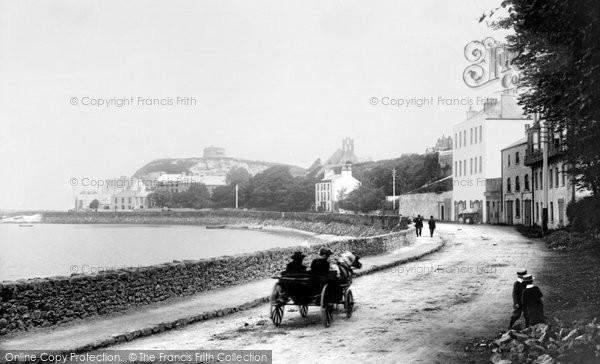 Photo of Howth, Harbour Road 1897