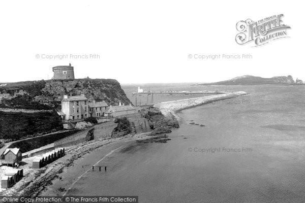 Photo of Howth, Ladies Bathing Beach  1897