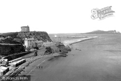 Ladies Bathing Beach  1897, Howth
